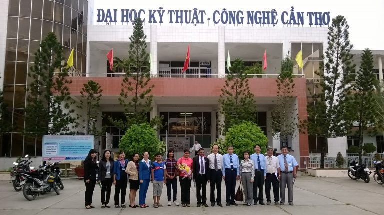 DELEGATION OF CONSULATE GENERAL OF INDIA VISITED CAN THO UNIVERSITY OF TECHNOLOGY
