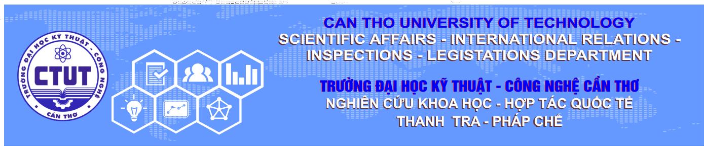 Phòng Nghiên cứu khoa học - Hợp tác quốc tế - Thanh tra - Pháp chế